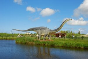 Łeba Park Park Dinozaurów