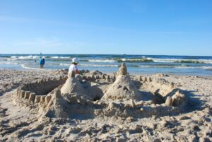 Plaża w Łebie