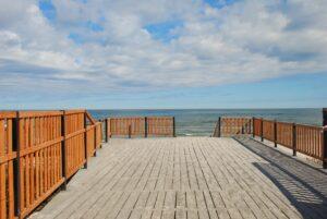 Wejście na Plażę w Łebie