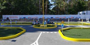 Tor samochodowy dla dzieci w Łebie