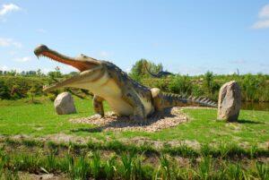Park dinozaurów w Łebie